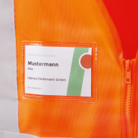 Warnschutz Weste EWALD orange - Safestyle®