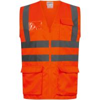 Warnschutz Weste ANSGAR orange - Safestyle®