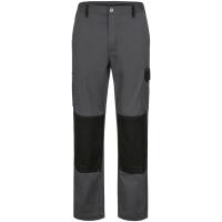 Canvas Bundhose OVERTON grau/schwarz - Craftland®