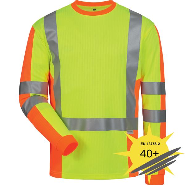 UV Warnschutz Langarm Shirt DRACHTEN - Elysee®