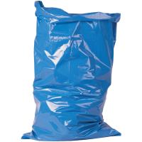 1 Rolle Abfallsäcke 100MY  blau, ca. 120 Liter