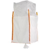 Big Bag mit Schürze & Auslaufstutzen 90 x 90 x 115 cm SWL 1000kg (8473) - Tector®