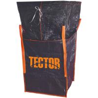 Big Bag mit Schürze schwarz 90 x 90 x 110 cm (84755) - Tector®