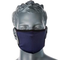 3 lagige Anti Mikrobielle Gesichtsmaske  Marine -...