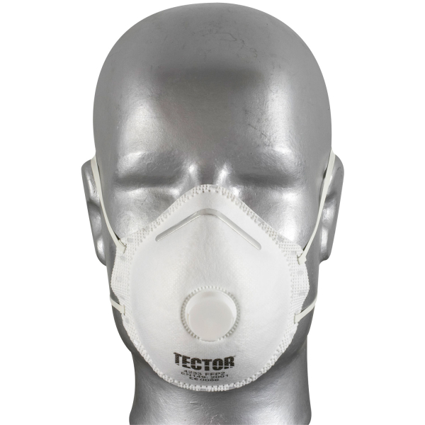 Feinstaub Halbrundmaske 4233 FFP2 NR mit Ventil - Tector®