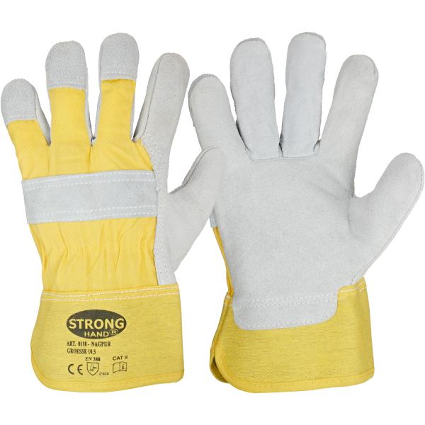 Rindspaltleder Handschuhe NAGPUR - Stronghand®