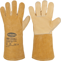Rindleder Handschuhe WELDER-PROFI 4 - Stronghand®