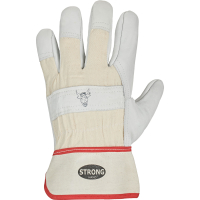 Rindvollleder Handschuhe STIERKOPF - Stronghand®