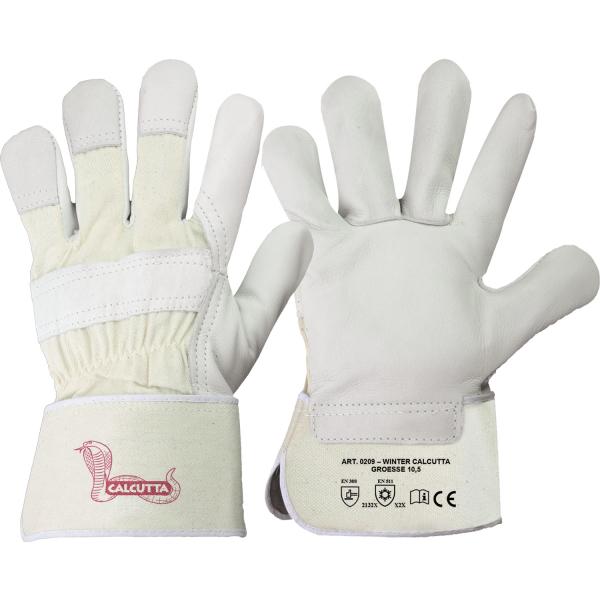 Rindvollleder Handschuhe WINTER CALCUTTA - Stronghand®