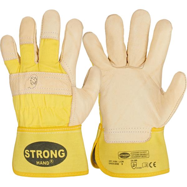 Rindvollleder Handschuhe LION - Stronghand®