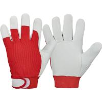 Nappaleder Handschuh RED NAPPA - Goodjob®
