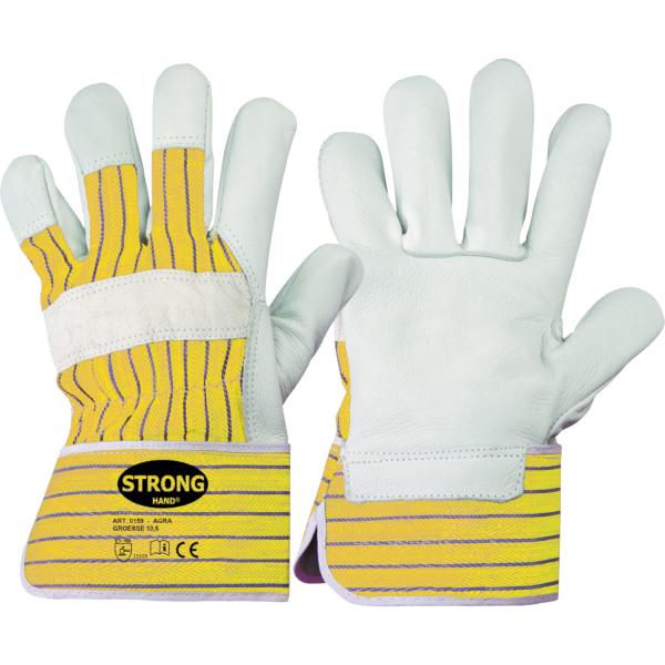 Rindvollleder Handschuhe AGRA - Stronghand®